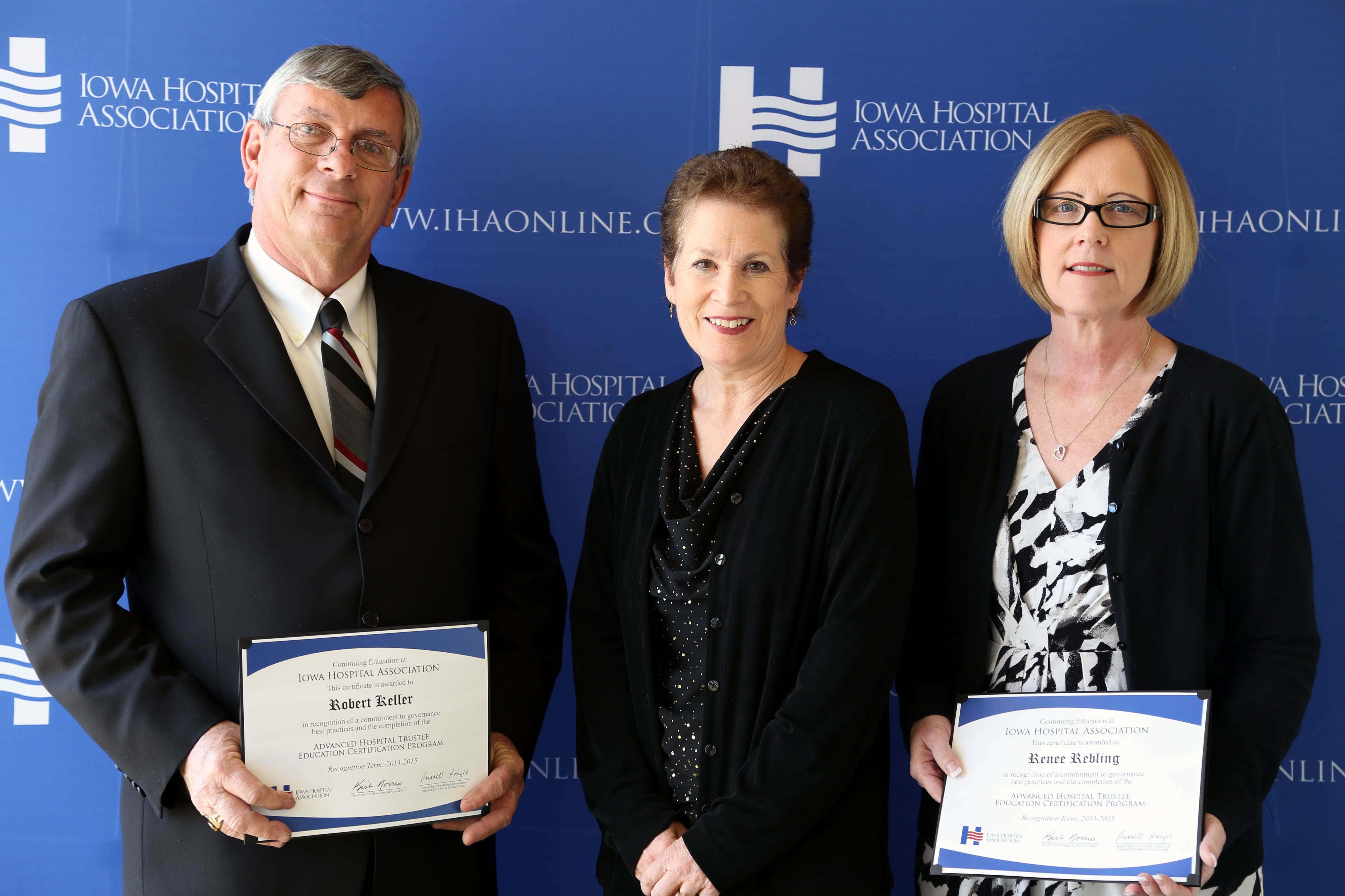 IHA Certificate Award